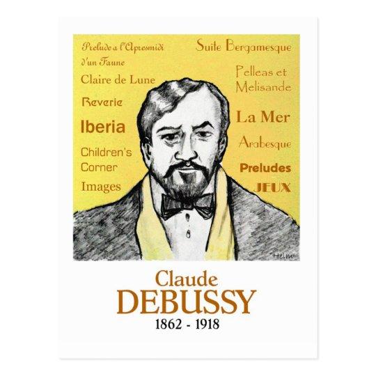 Debussy Postcard