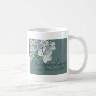 Debut Congratulations Spring Beauty Wildflower Coffee Mug