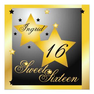 Debutant Star Sweet Sixteen-Cust. Card