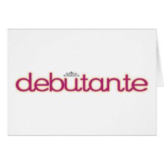 Debutante Collection...Thank You Card! Card