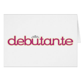 Debutante Collection...Thank you, Mother! Card