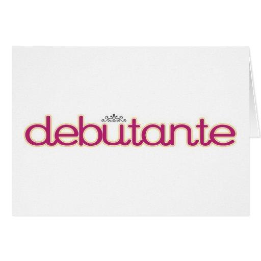 Debutante Collection...Thank you, Mother! Card