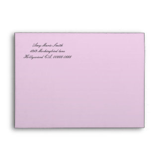Debutante in Silhouette  Envelope