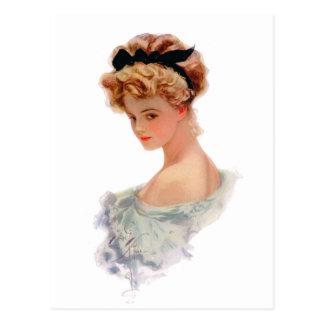 Debutante Postcard