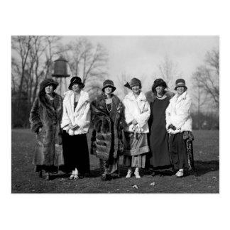 Debutantes de la marina de guerra, los años 20 tarjetas postales