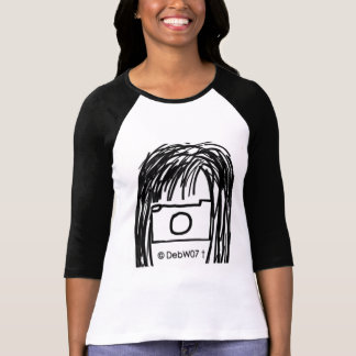 DebW07 Black and White T Shirt 1 Image