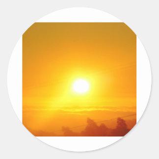 Dec. Sunset Stickers