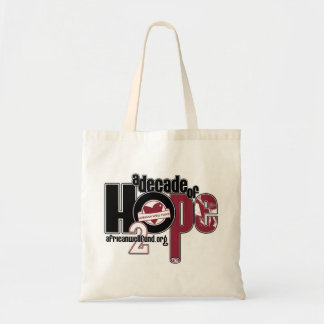 Decade of Hope AWF Tote Bag