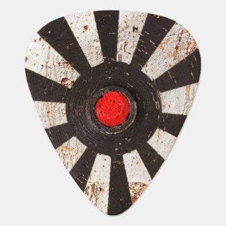 decadencia urbana de la pintada plumilla de guitarra