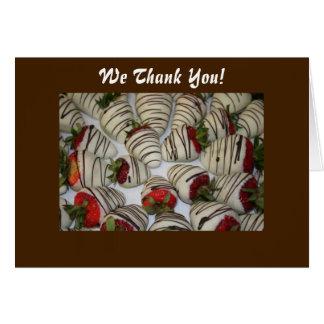 Decadent Affair-Thank You Card