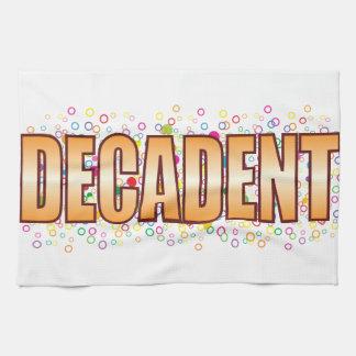 Decadent Bubble Tag Kitchen Towels