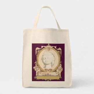 Decadent Cameo Tote Grocery Tote Bag
