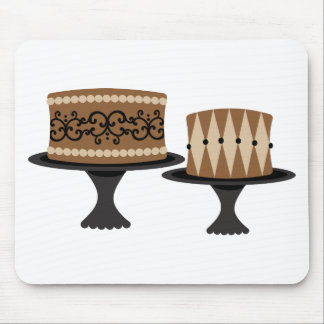 Decadent Chocolate Cakes Mouse Pad
