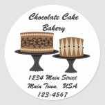 Decadent Chocolate Cakes Sticker