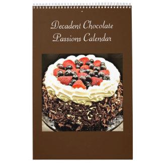 Decadent Chocolate Passions Calendar