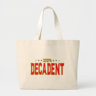 Decadent Star Tag Canvas Bag