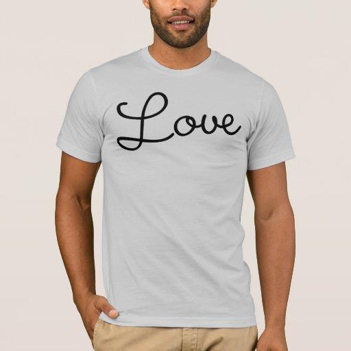 "Decades ""Love"" T-Shirt (Script)"