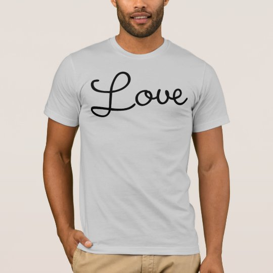 "Decades ""Love"" T-Shirt (Script)"