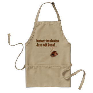 Decaf Confusion Apron