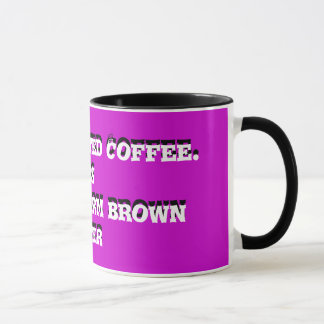 Decaffeinated Coffee. ...- Ringer Mug