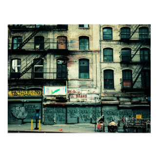 Decaimiento en Canal Street, Chinatown Postales