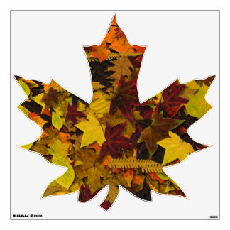 Decal - Leaf - Autumn Leaves 1 Wall Sticker