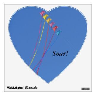 Decal Stunt Kite in the sky, Soar!