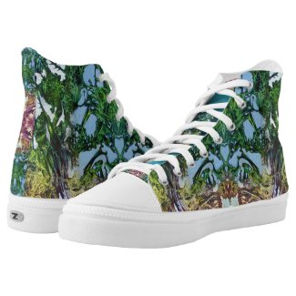 DECALCOMANIAC PLAY High-Top SNEAKERS