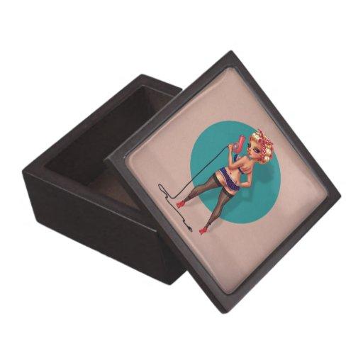 Decano de Alexis - modelo modelo con un secador de Cajas De Recuerdo De Calidad
