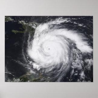 Decano del huracán en el Atlántico y el Caribe Póster