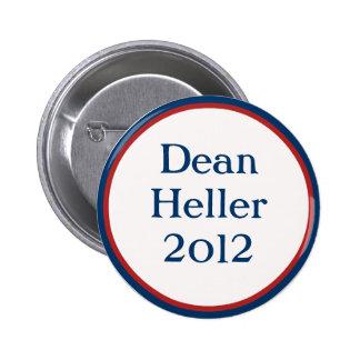 Decano Heller Button del vintage Pins