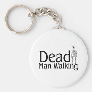 Decano Man Walking Llavero Personalizado