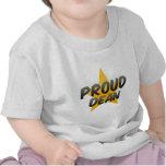 Decano orgulloso camisetas