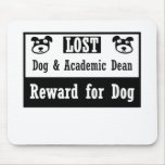 Decano perdido del Academic del perro Tapete De Raton