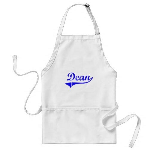 Decano Surname Classic Style Delantal