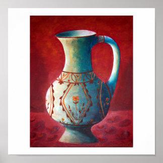 """""""Decanter"""" coffee mug Poster"""