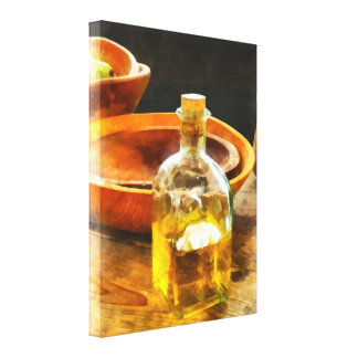 Decanter of Oil Canvas Print