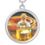 Decanter of Oil Personalized Necklace