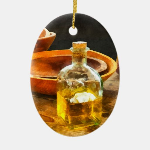 Decanter of Oil Christmas Tree Ornaments