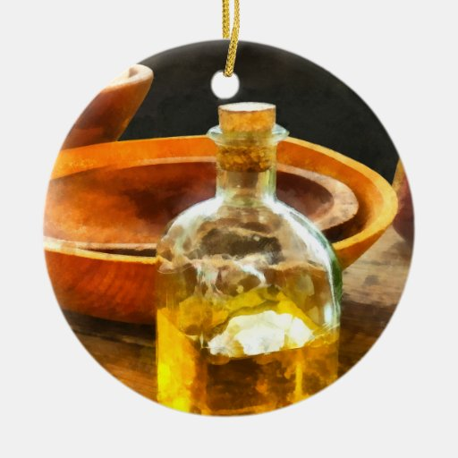 Decanter of Oil Christmas Ornament