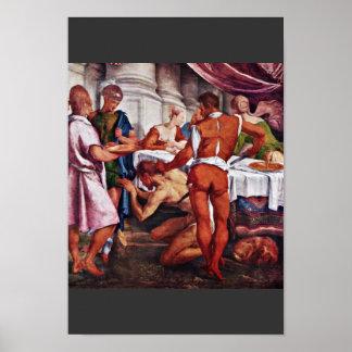 Decapitación de San Juan Bautista de Ponte Jacopo  Posters