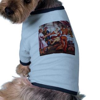 Decapitación de San Juan Bautista de Ponte Jacopo  Camisetas Mascota