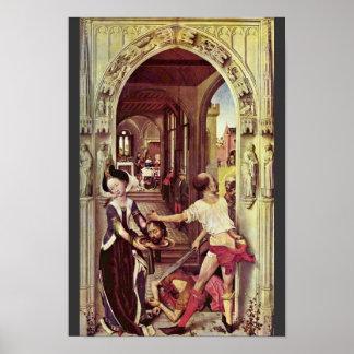 Decapitación de San Juan Bautista de Weyden Rogier Posters