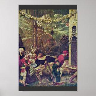 Decapitación de San Juan Bautista por Deutsch Nikl Poster