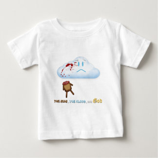 Decapitated Bear and Cloud Baby T-Shirt