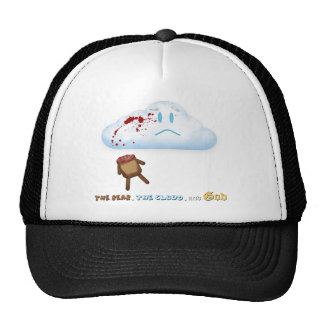 Decapitated Bear and Cloud Hat