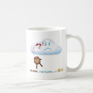 Decapitated Bear and Cloud Classic White Coffee Mug