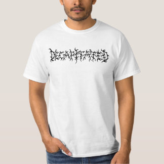 Decapitated - white logo t-shirt