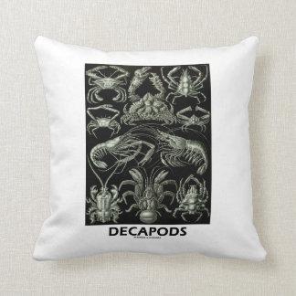 Decápodos Ernesto Haeckel Artforms de la Almohada