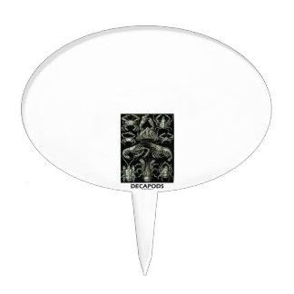 Decápodos Ernesto Haeckel Artforms de la Figura Para Tarta